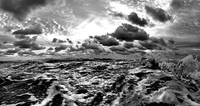 Photograph - When You Need The Ocean, She Comes Rushing... by Andrew Royston