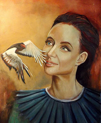 Painting - When You See A Bird by Irena Mohr