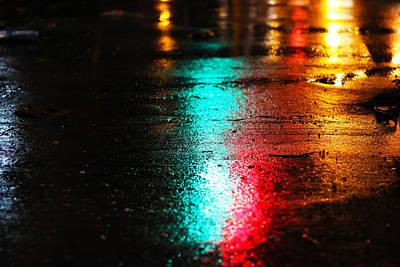 Whenever It Rains Art Print