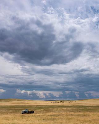 89 Photograph - Where Buffalo Roam by Joseph Smith