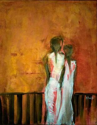 Painting - Where Can They Go by Katherine Cobb