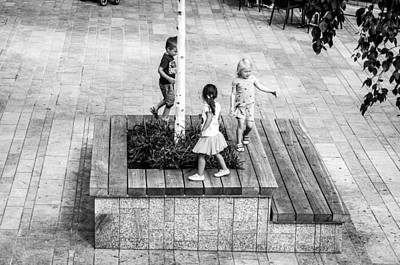 Almere Photograph - Where Do The Children Play? by Paul Donohoe