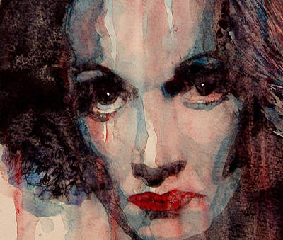 Actress Wall Art - Painting - Where Do You Go My Lovely by Paul Lovering