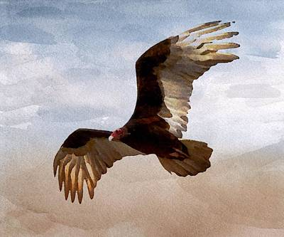Painting - Where Eagles Soar by Mark Taylor