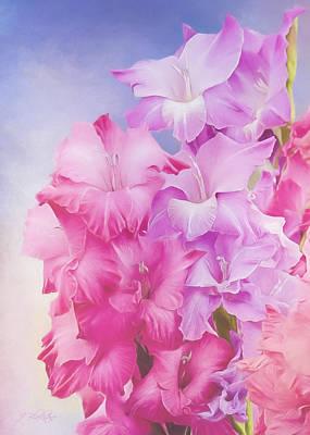 Painting - Where Flowers Bloom - Flower Art by Jordan Blackstone