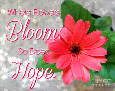 Photograph - Where Flowers Bloom by Susan Bordelon