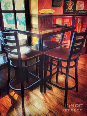 Photograph - Where Friends Meet - The Old Pub by Miriam Danar