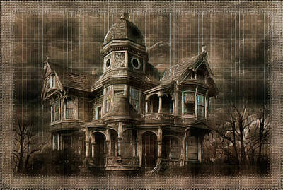 Manipulation Photograph - Where Ghosts Live by Mario Carini
