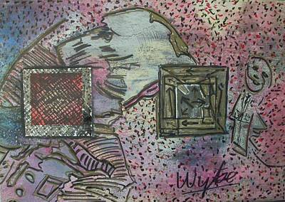 Where Has My Doggie Gone Art Print by Wytse