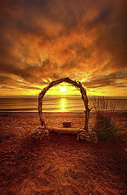 Photograph - Where Hope And Love Will Be Forever by Phil Koch
