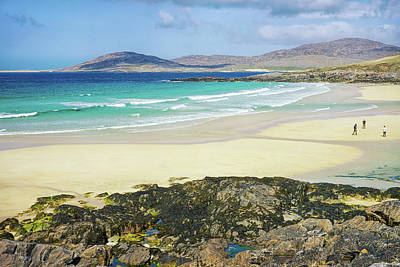 Photograph - Where Lands Meets Sea. Harris, Hebrides by Christopher Rees
