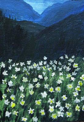 Art Print featuring the painting Where Lilies Grow by Trilby Cole