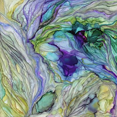 Painting - Where Mermaids Dream by Brenda Salamone