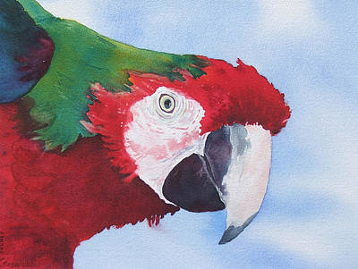 Art Print featuring the painting Where S Jimmy by Judy Mercer