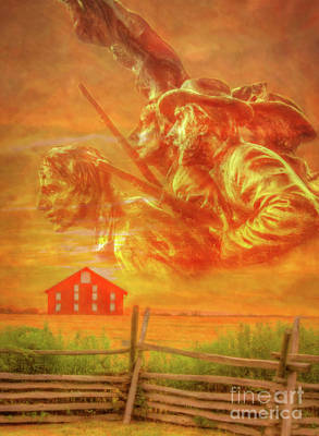Digital Art - Where Southern Blood Flowed by Randy Steele