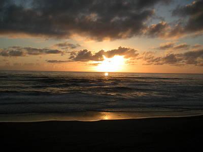 Photograph - Where Sun And Ocean Meet by Tim Mattox