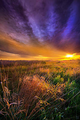 Photograph - Where The Billows Of Memory Quiver by Phil Koch