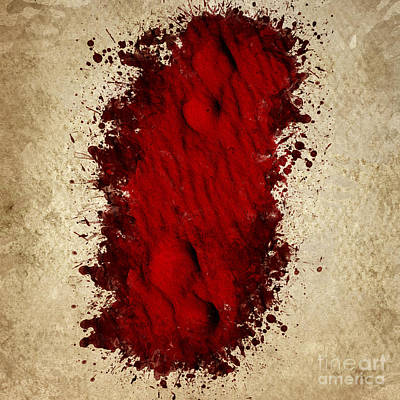 Mess Photograph - Where The Blood Trail Leads by Jorgo Photography - Wall Art Gallery