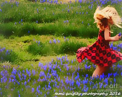 Photograph - Where The Bluebells Bloom by Tami Quigley