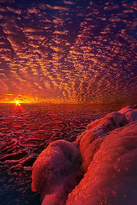 Unity Photograph - Where The End Begins by Phil Koch