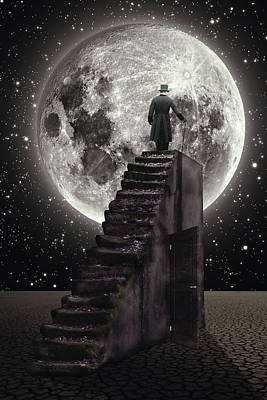 Digital Art - Where The Moon Rise by Mihaela Pater