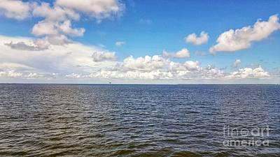 Photograph - Where The Ocean Meets The Sky by Rachel Hannah