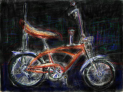 Bicycle Mixed Media - Where The Rubber Meets The Road by Russell Pierce