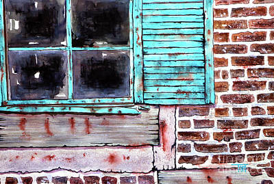 Where The Warehouse Was Art Print by Tim Ross