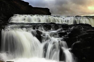 Photograph - Where The Water Falls by Angela King-Jones