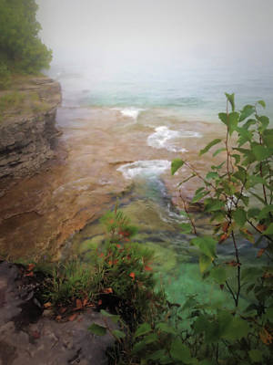 Photograph - Where The Water Meets The Sky by Mary Wolf