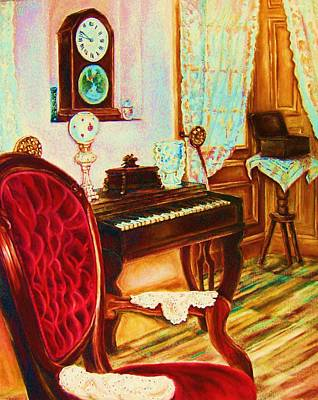 Painting - Where Time Stands Still by Carole Spandau