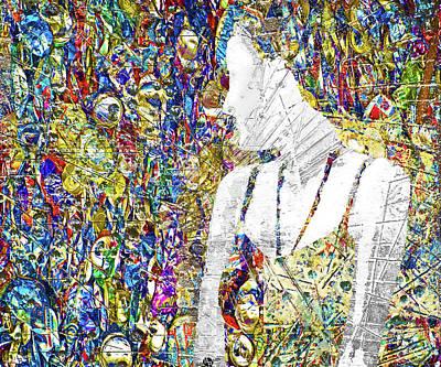 Mixed Media - Where? by Tony Rubino
