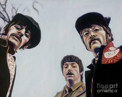 Where's George? Art Print