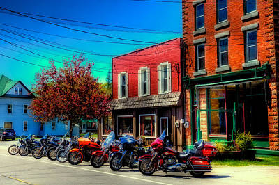 Photograph - Where's My Ride - Old Forge Ny by David Patterson
