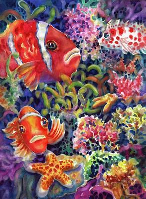 Painting - Where's Nemo by Ann Nicholson