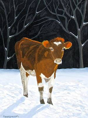 Painting - Where's The Grass? by Barb Pennypacker