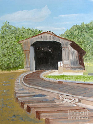 Painting - Where's The Train ? by Rod Jellison