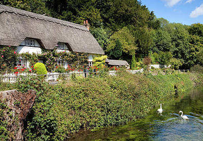 Photograph - Wherwell Cottage by Shirley Mitchell
