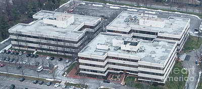 Photograph - Whi Solutions Headquarters In Rye Brook, New York Aerial Photo by David Oppenheimer