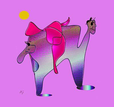 Digital Art - Which Way #2 by Iris Gelbart