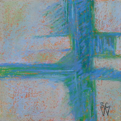 Pastel - Which Way by Susan Woodward