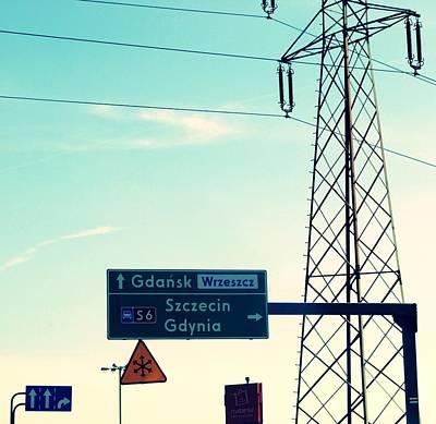 Which Way To Bydgoszcz Original by Laura Pineda