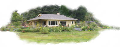 Photograph - Whidbey Island Cottage by Henri Irizarri