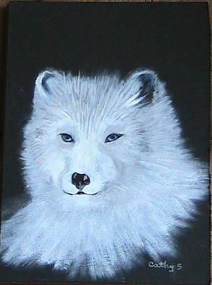 Painting -  Wolf by Catherine Swerediuk