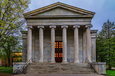 Photograph - Whig Hall Princeton University by Susan Candelario