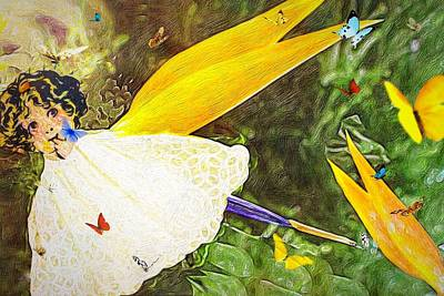 Photograph - Whimsical Fairy by Anne Sands
