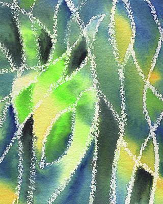 Painting - Whimsical Garden Organic Decor II by Irina Sztukowski