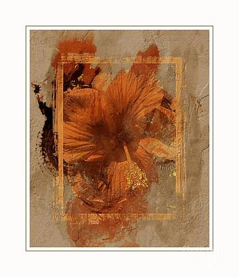 Digital Art - Whimsical Hibiscus by Barbara Griffin