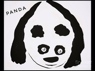 Digital Art - Whimsical Panda by Susan Garren