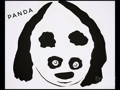Digital Art - Whimsical Panda by Susan Garren